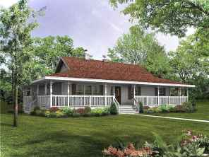 Awesome Cottage House Exterior Ideas Ranch Style 31