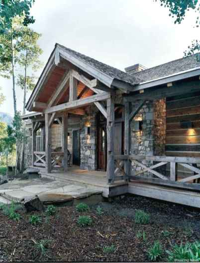 Awesome Cottage House Exterior Ideas Ranch Style 34