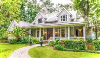 Awesome Cottage House Exterior Ideas Ranch Style 38