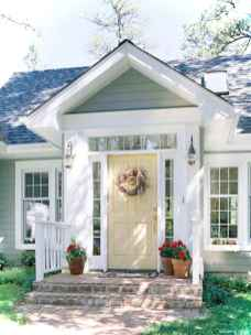 Awesome Cottage House Exterior Ideas Ranch Style 44