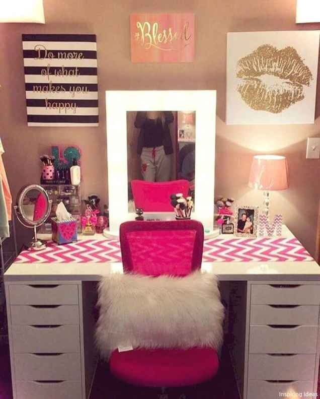 Cute Craft Ideas for Teen Girl Bedroom40