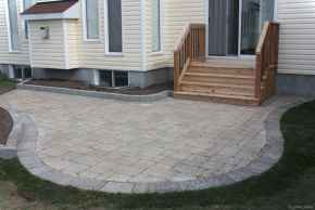 Paver Walkways Ideas for Backyard Patio 17