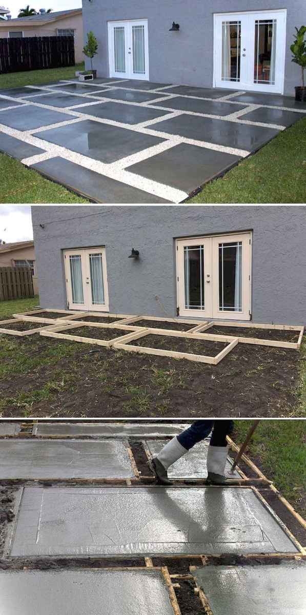 Paver Walkways Ideas for Backyard Patio 20