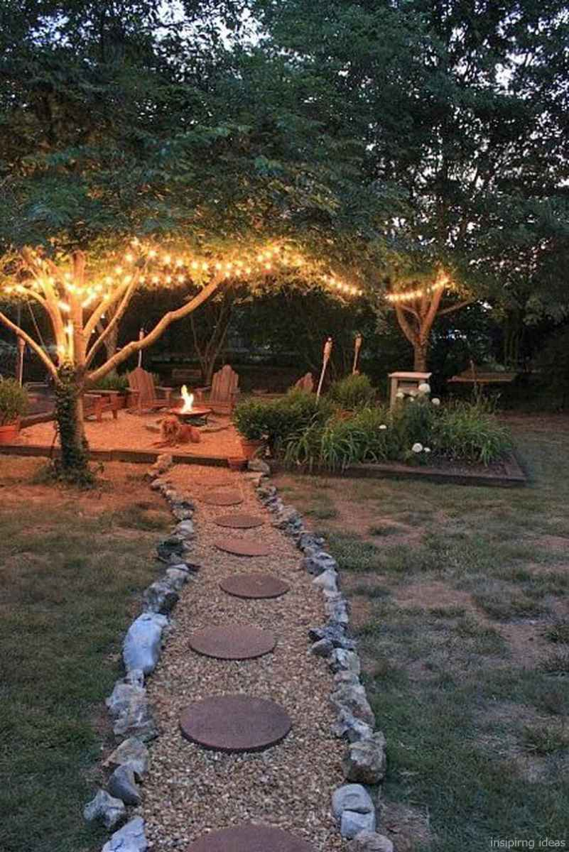 110 Fabulous Gravel Patio Ideas with Fire Pits 05