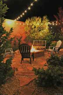 110 Fabulous Gravel Patio Ideas with Fire Pits 10