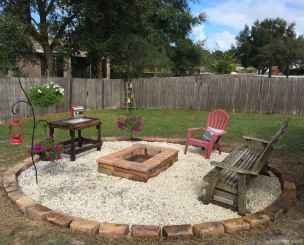110 Fabulous Gravel Patio Ideas with Fire Pits 105