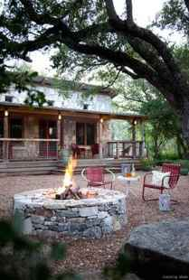 110 Fabulous Gravel Patio Ideas with Fire Pits 107