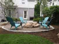 110 Fabulous Gravel Patio Ideas with Fire Pits 27