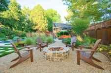 110 Fabulous Gravel Patio Ideas with Fire Pits 32