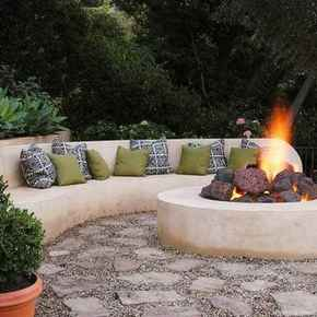 110 Fabulous Gravel Patio Ideas with Fire Pits 45