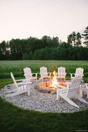 110 Fabulous Gravel Patio Ideas with Fire Pits 46
