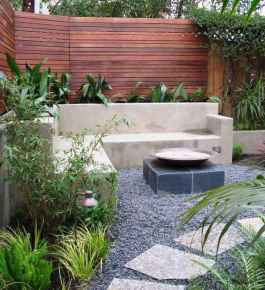 110 Fabulous Gravel Patio Ideas with Fire Pits 67
