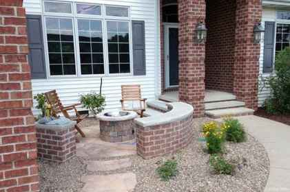 110 Fabulous Gravel Patio Ideas with Fire Pits 77