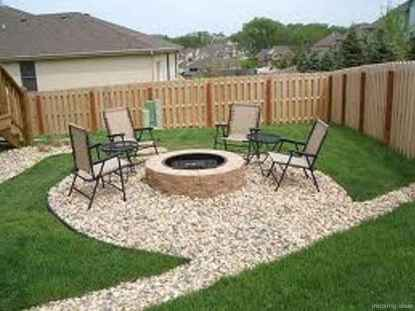 110 Fabulous Gravel Patio Ideas with Fire Pits 79