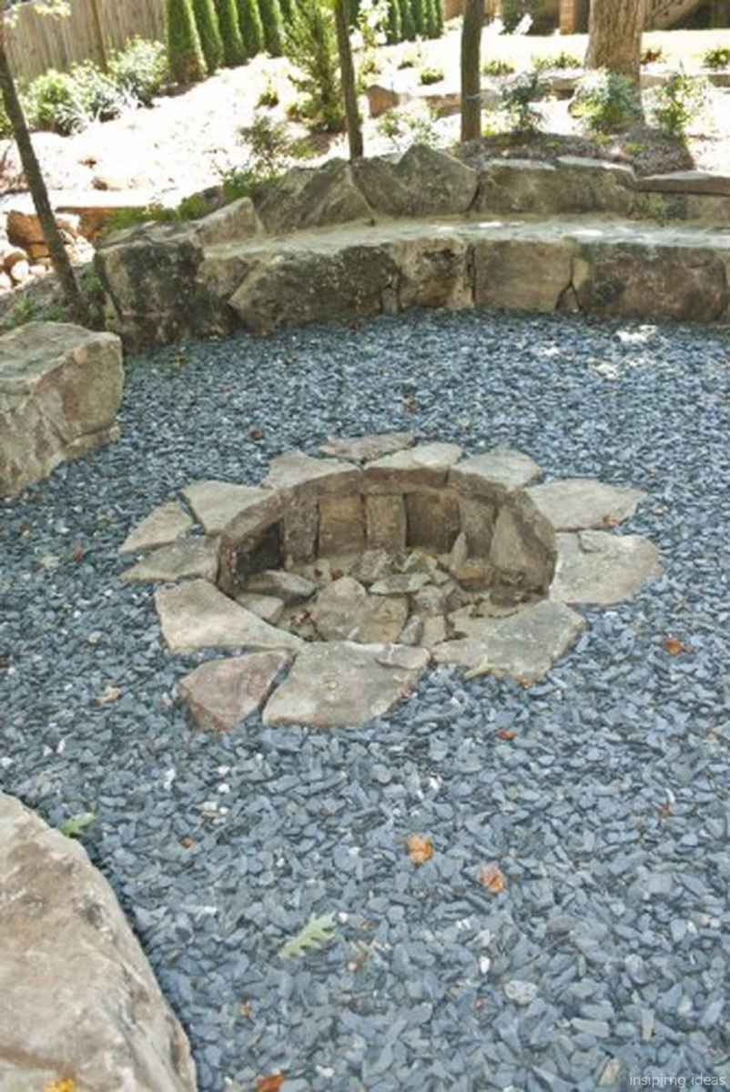 110 Fabulous Gravel Patio Ideas with Fire Pits 87
