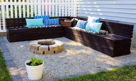 110 Fabulous Gravel Patio Ideas with Fire Pits 98