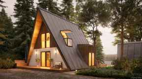 51 Affordable Log Cabin Homes Ideas