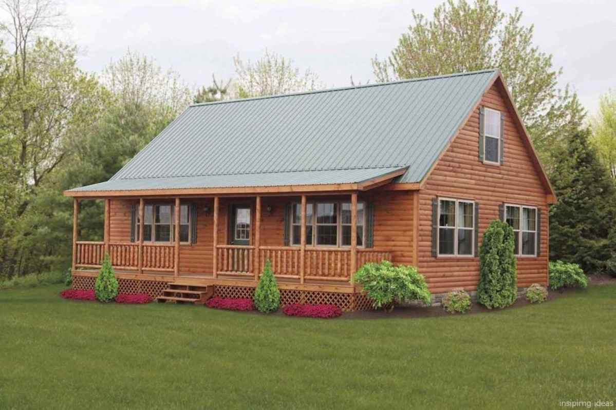 62 Affordable Log Cabin Homes Ideas