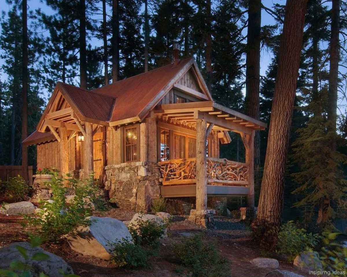 75 Affordable Log Cabin Homes Ideas