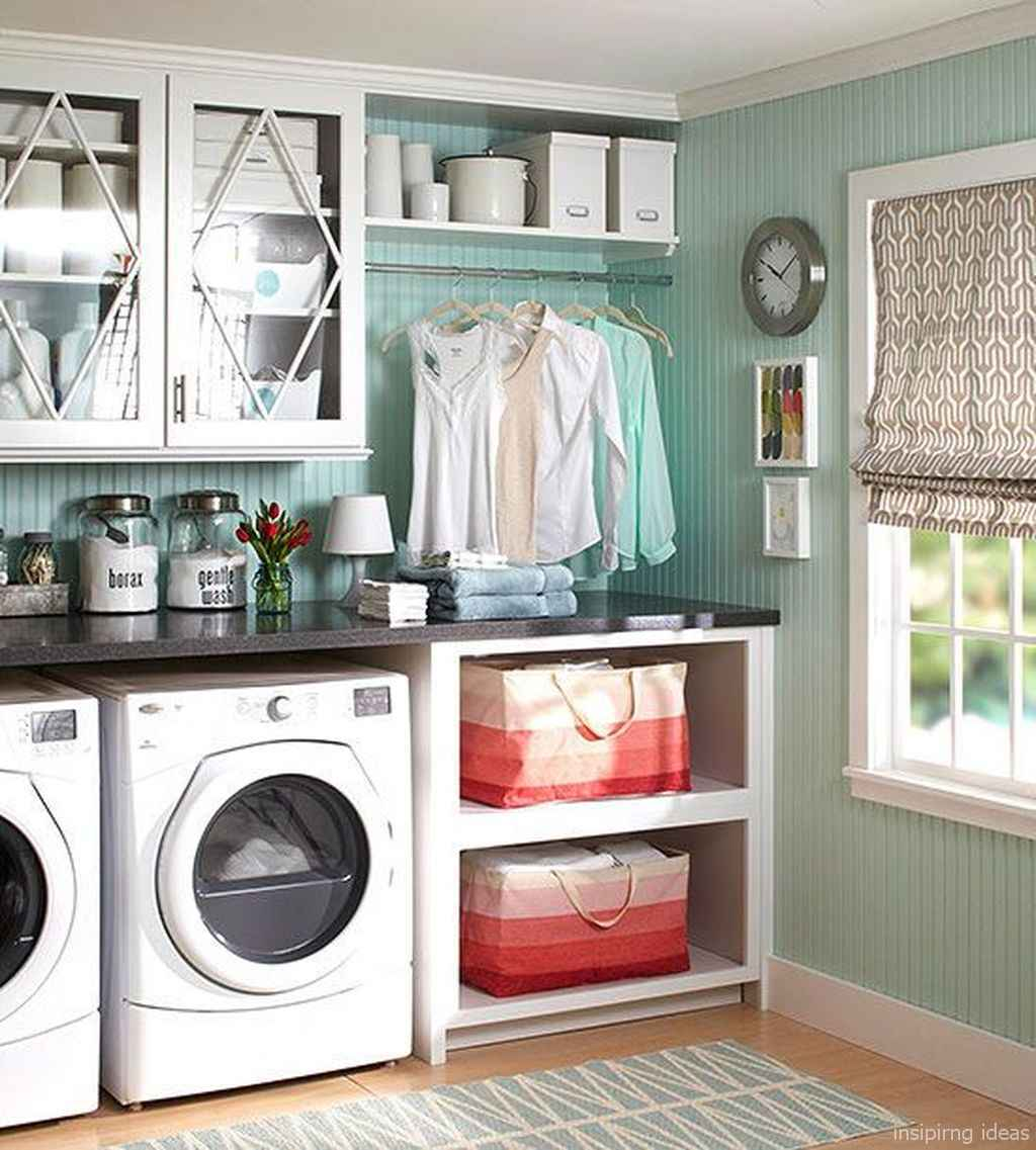90 Awesome Laundry Room Design and Organization Ideas 40