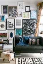 Creative Gallery Wall Ideas 22 for Living Room