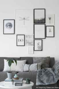 Creative Gallery Wall Ideas 41 for Living Room