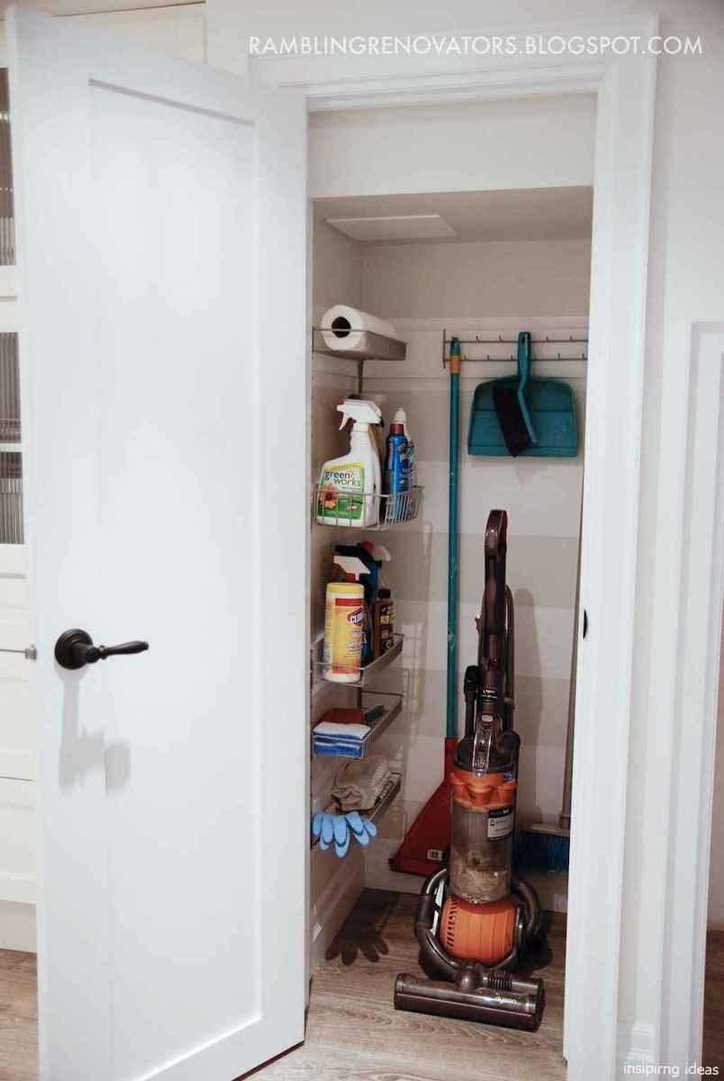 Genius Cleaning Supply Closet Organization Ideas 07