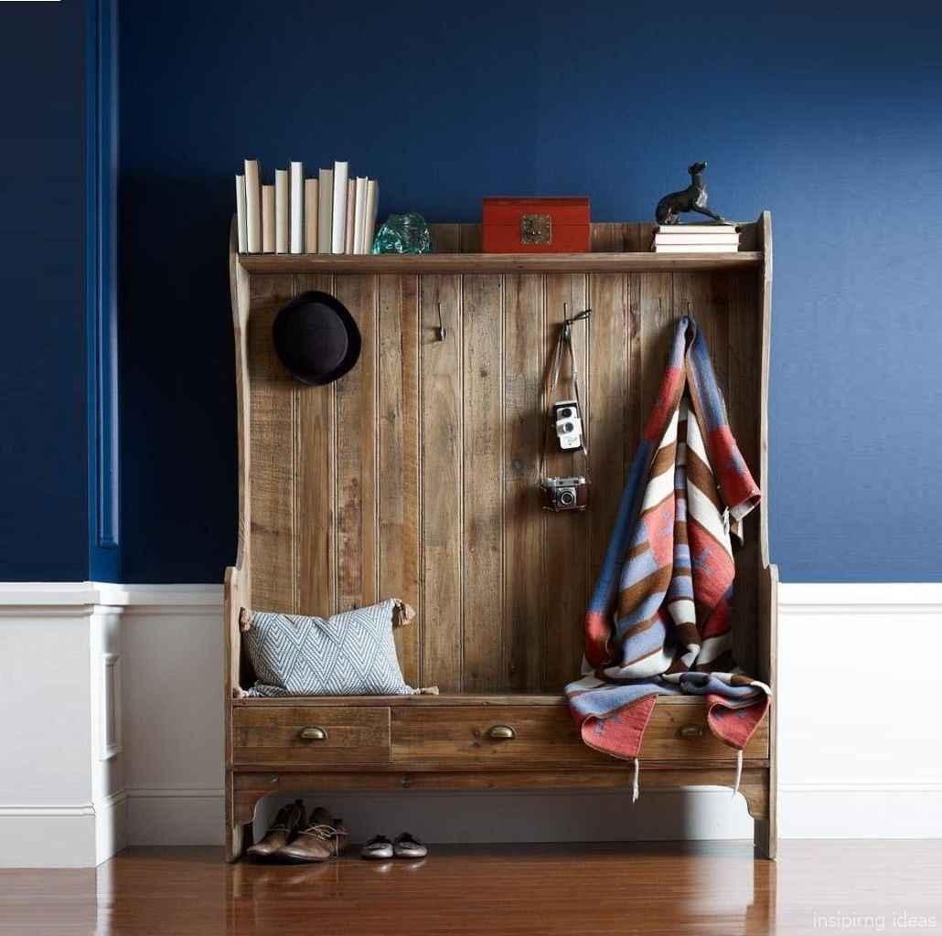 Rustic DIY Storage Bench Ideas 12