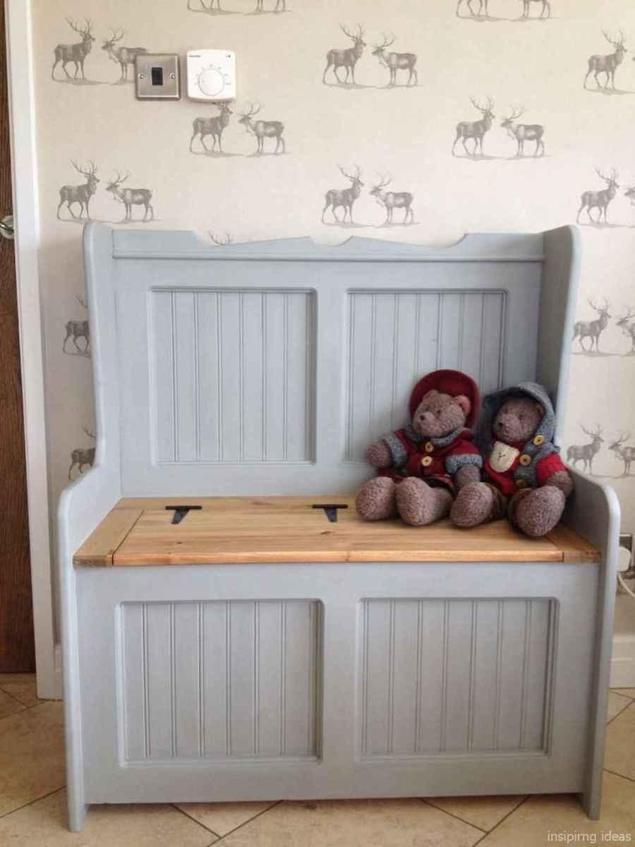 Rustic DIY Storage Bench Ideas 35