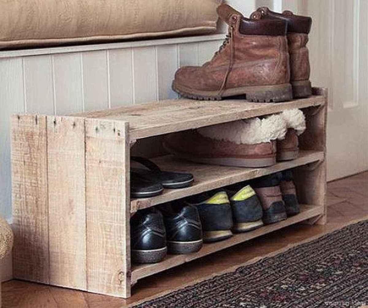Rustic DIY Storage Bench Ideas 52