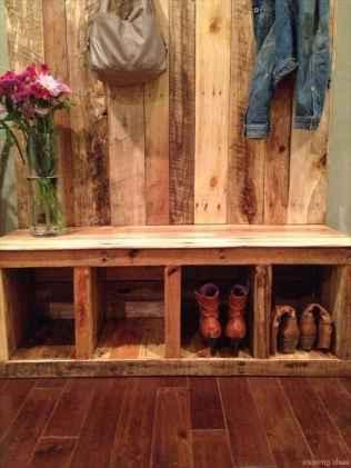 Rustic DIY Storage Bench Ideas 55