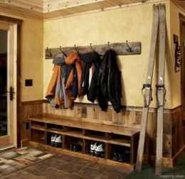 Rustic DIY Storage Bench Ideas 57