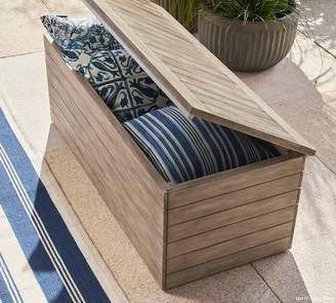 Rustic DIY Storage Bench Ideas 58