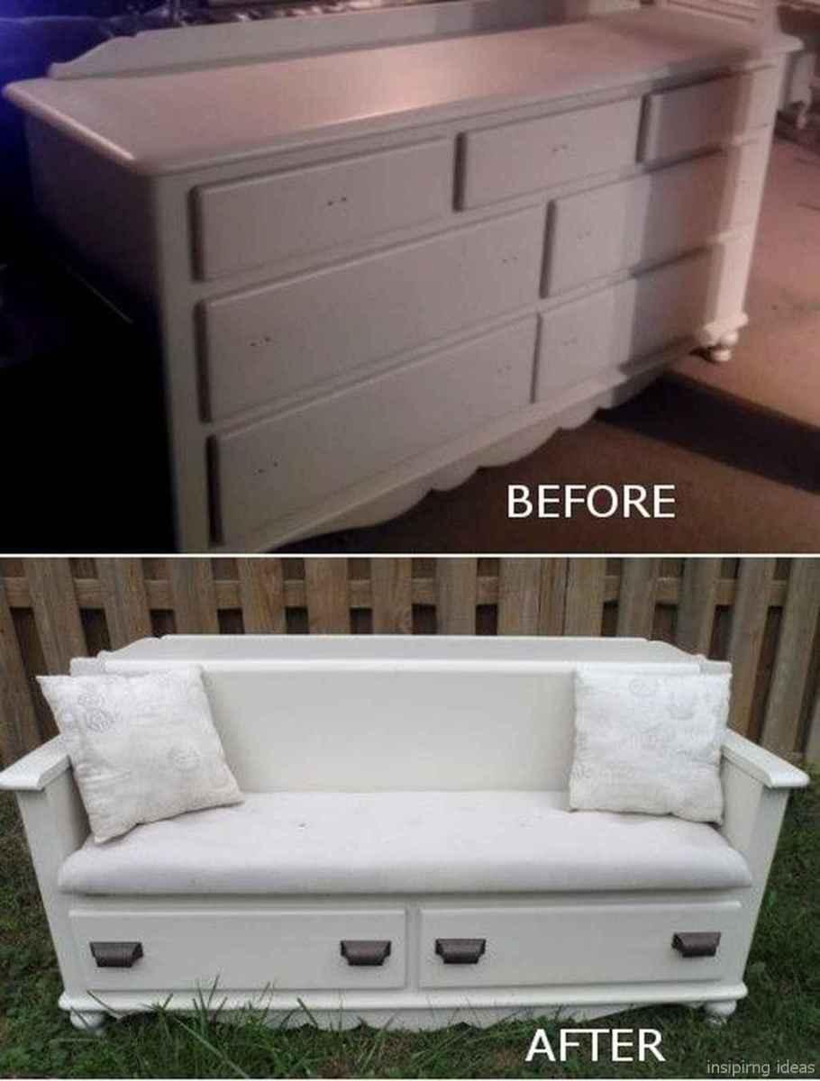 Rustic DIY Storage Bench Ideas 59