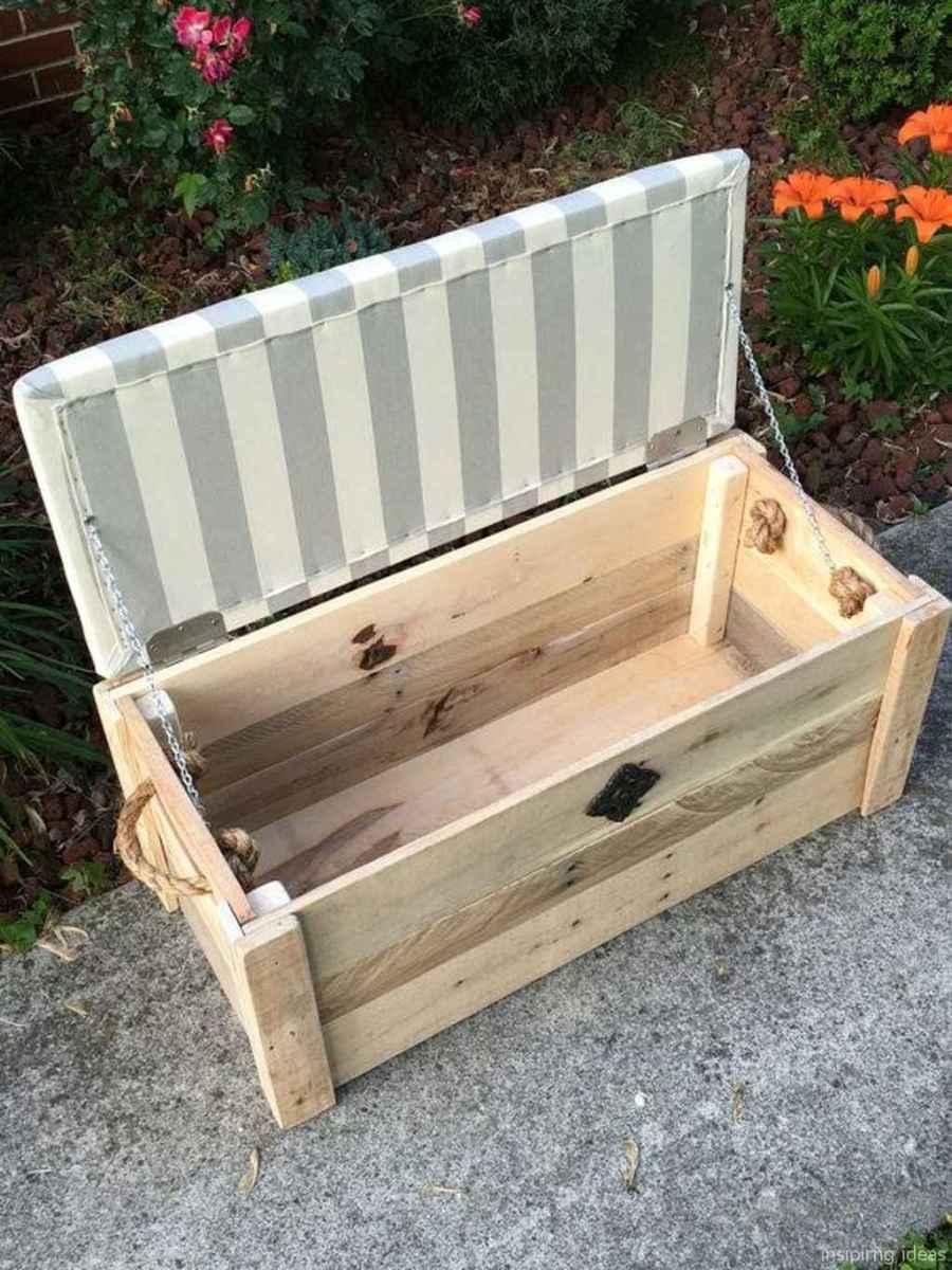 Rustic DIY Storage Bench Ideas 64