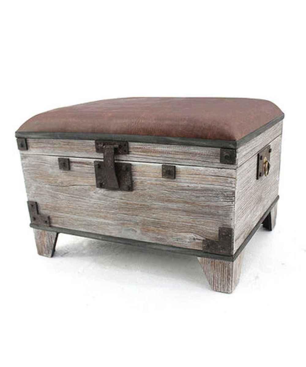 Rustic DIY Storage Bench Ideas 70