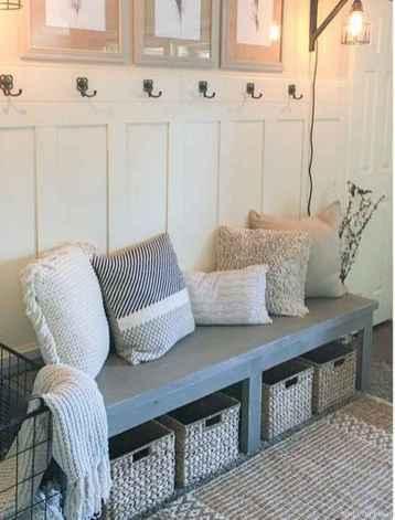 Rustic DIY Storage Bench Ideas 77