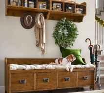 Rustic DIY Storage Bench Ideas 83