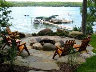 100+ Cheap Backyard Fire Pits Design 09