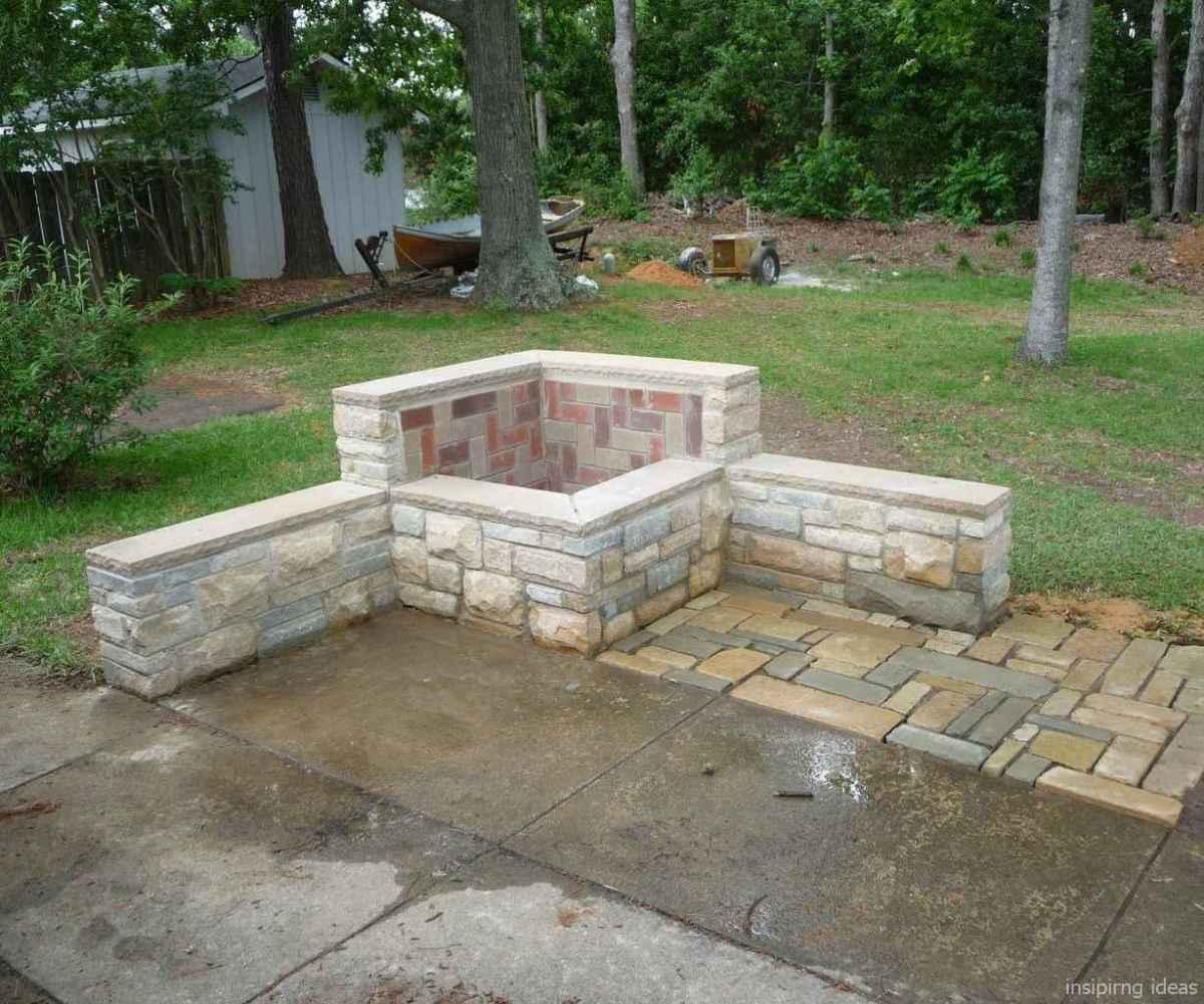 100+ Cheap Backyard Fire Pits Design 102