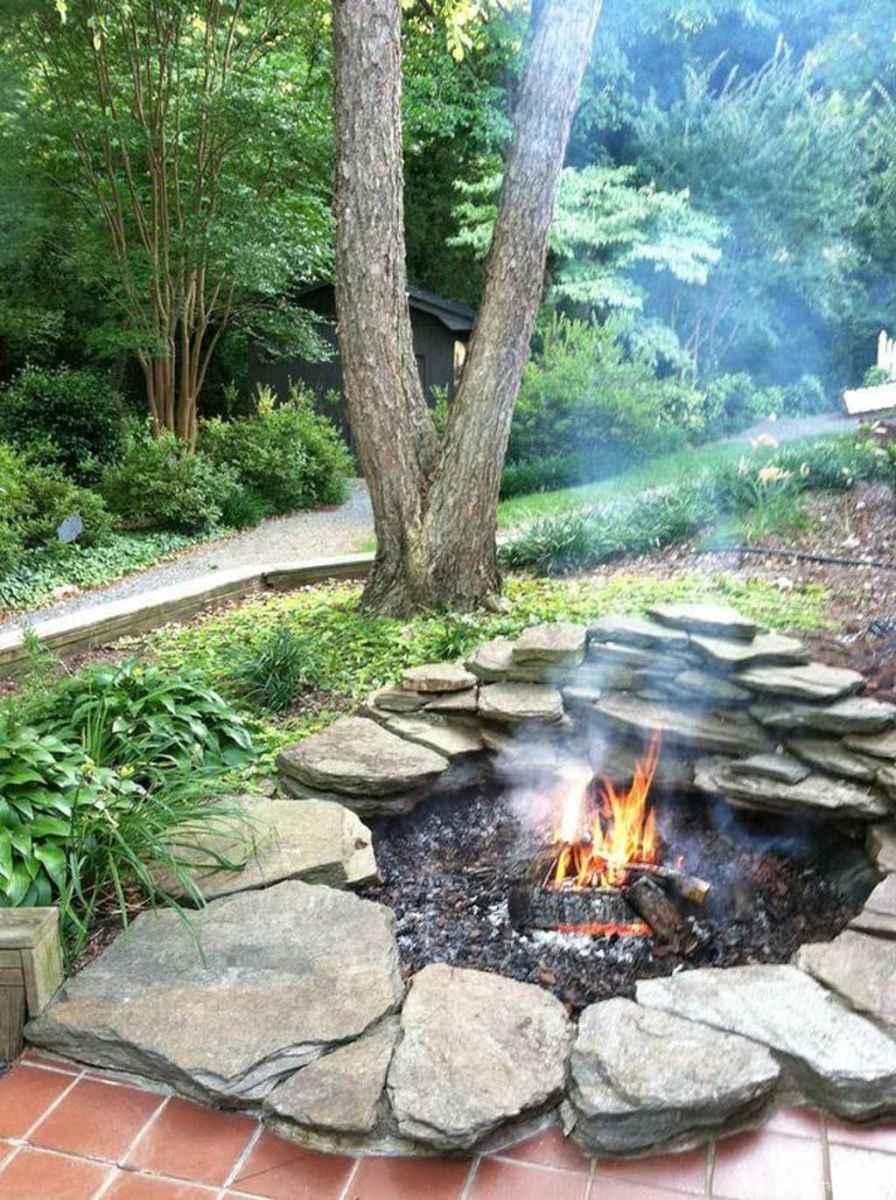 100+ Cheap Backyard Fire Pits Design 12