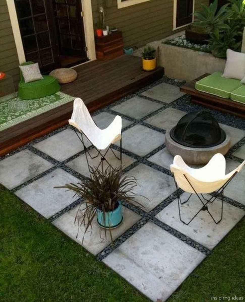 100+ Cheap Backyard Fire Pits Design 15