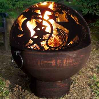 100+ Cheap Backyard Fire Pits Design 16