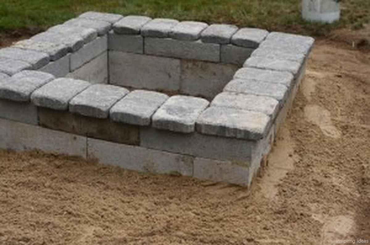 100+ Cheap Backyard Fire Pits Design 22