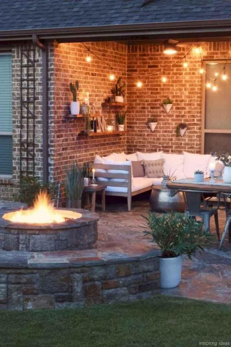 100+ Cheap Backyard Fire Pits Design 28