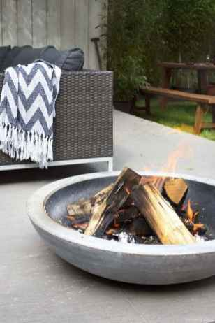 100+ Cheap Backyard Fire Pits Design 63