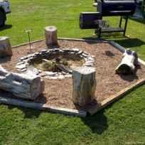 100+ Cheap Backyard Fire Pits Design 74