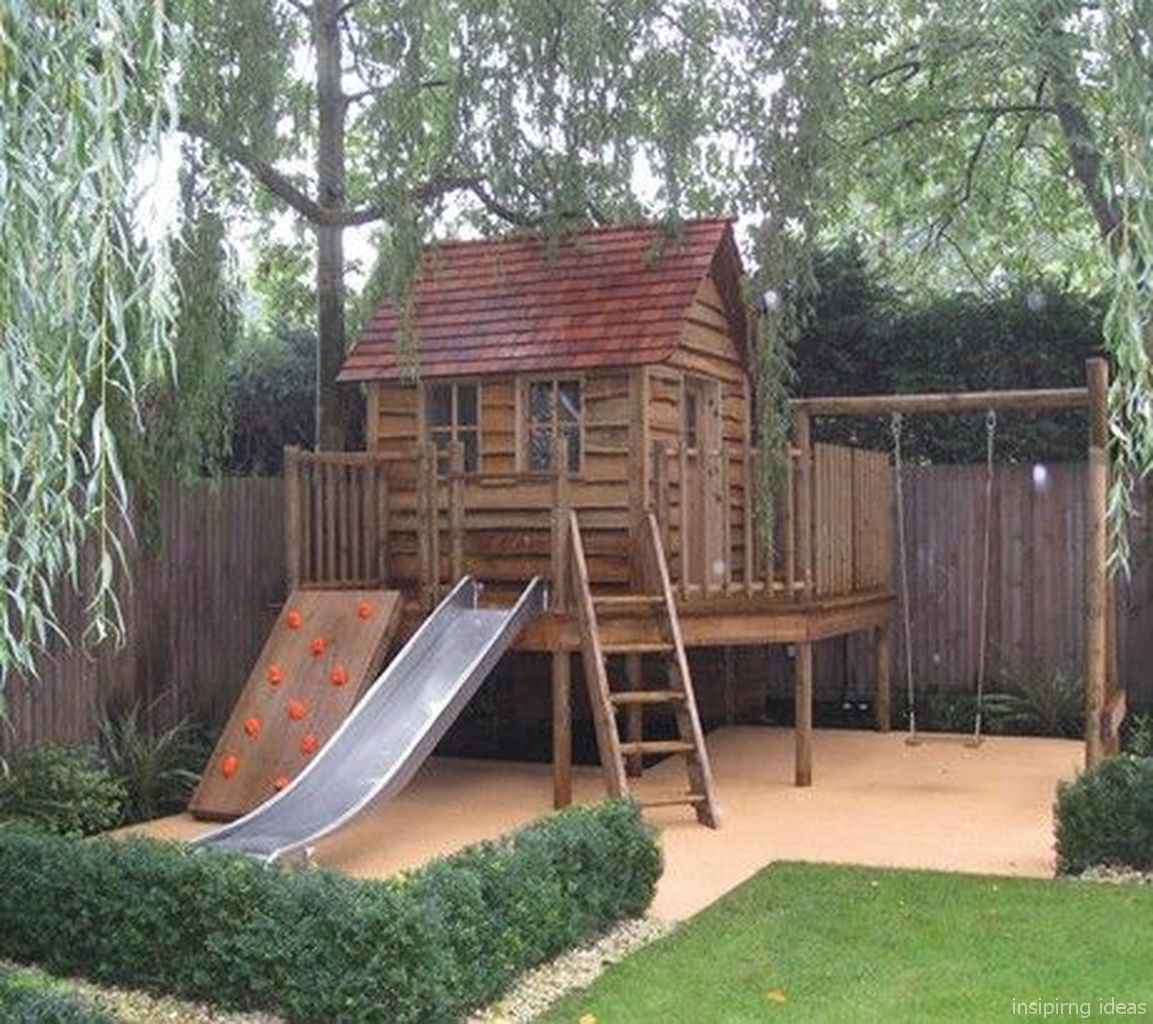 11 Backyard Playground Design Ideas