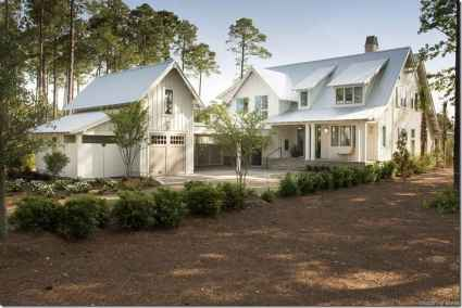 33 Incredible Modern Farmhouse Exterior Color Ideas