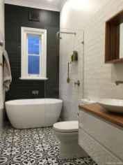 77 Fabulous Modern Farmhouse Bathroom Tile Ideas 04